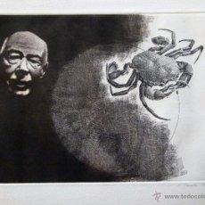 Arte: GRABADO AGUAFUERTE FIRMADO JENS RUSCH . Lote 53264414