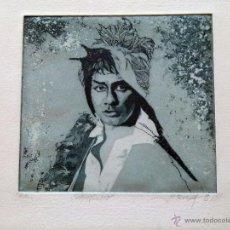 Arte: GRABADO AGUAFUERTE FIRMADO JENS RUSCH . Lote 53264489
