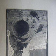 Arte: GRABADO DE PILAR FONT 1972. Lote 53270515
