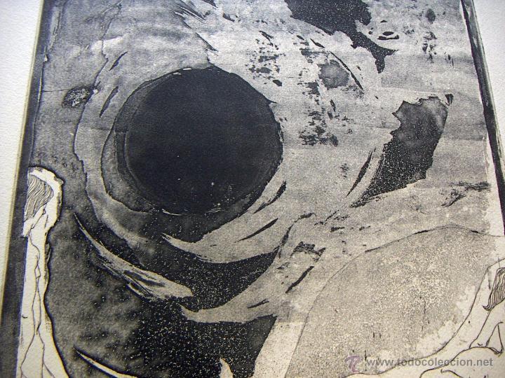 Arte: Grabado de Pilar Font 1972 - Foto 2 - 53270515