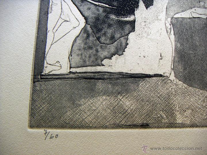 Arte: Grabado de Pilar Font 1972 - Foto 3 - 53270515