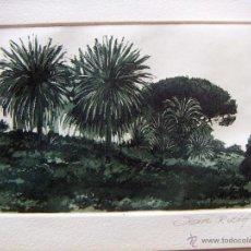 Arte: GRABADO AGUAFUERTE FIRMADO JENS RUSCH. Lote 53272202