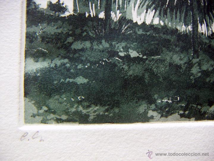 Arte: Grabado Aguafuerte firmado Jens Rusch - Foto 2 - 53272202