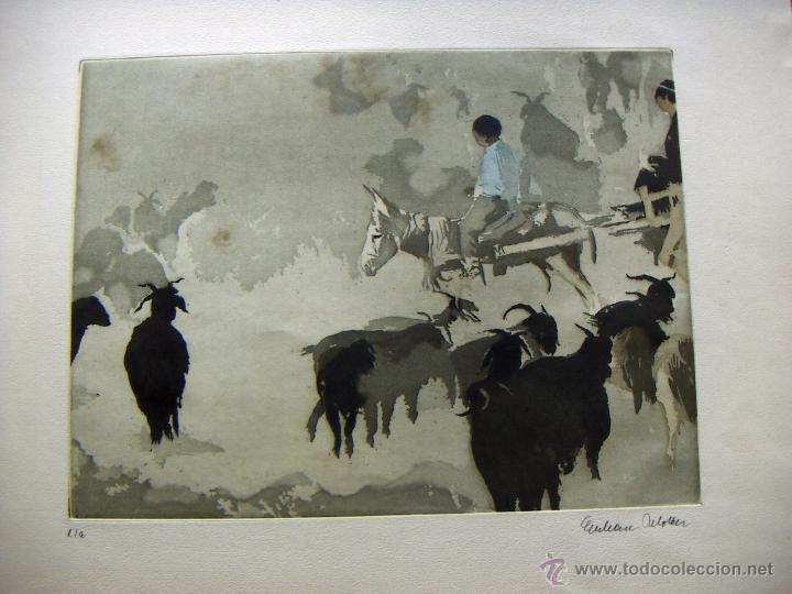 GRABADO DE EBERHARD SCHOLTTER (Arte - Grabados - Contemporáneos siglo XX)