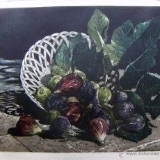 Arte: GRABADO AGUAFUERTE FIRMADO JENS RUSCH. Lote 53273349
