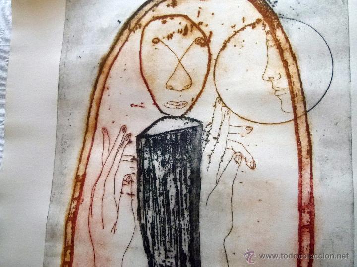 Arte: Grabado original firmado Barberá - Foto 2 - 53336036