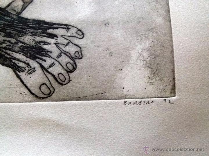 Arte: Grabado original firmado Barberá - Foto 4 - 53336036