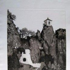 Arte: GRABADO ORIGINAL DE GUADALEST DE J.DURÁ. Lote 53355740