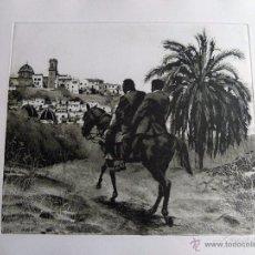 Arte: GRABADO AGUAFUERTE FIRMADO JENS RUSCH. Lote 53358520