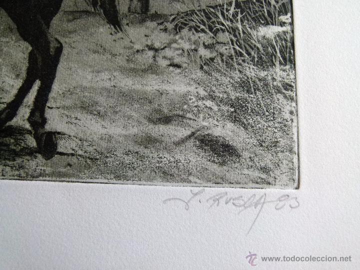 Arte: Grabado Aguafuerte firmado Jens Rusch - Foto 3 - 53358520