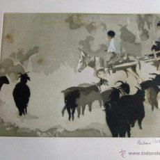Arte: GRABADO ORIGINAL DE EBERHARD SCHLOTTER. Lote 53390520