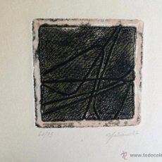 Arte: 2 GRABADOS FIRMADOS A IDENTIFICAR. Lote 53395407