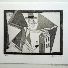 Arte: GRABADO AL AGUAFUERTE ORIGINAL ANTONIO SEGUÍ, FIRMADO NUMERADO. 75 EJS. 1993. 32,7X24,5 CM.. Lote 56863811