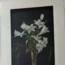 Arte: GRABADO AGUAFUERTE FIRMADO JENS RUSCH . Lote 53457280