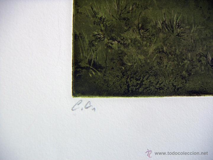 Arte: Grabado Aguafuerte firmado Jens Rusch - Foto 4 - 53490496