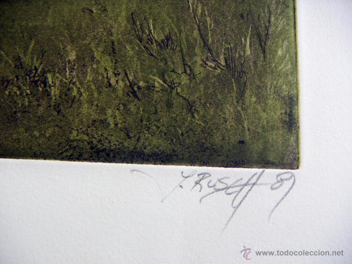 Arte: Grabado Aguafuerte firmado Jens Rusch - Foto 5 - 53490496
