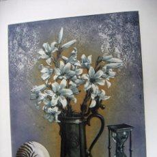 Arte: GRABADO AGUAFUERTE FIRMADO JENS RUSCH. Lote 53490501