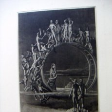 Arte: GRABADO AGUAFUERTE DE PETER PROKSCH. Lote 53574851