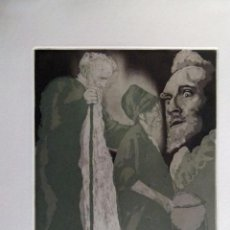 Arte: GRABADO DE EL QUIJOTE DE EBERHARD SCHLOTTER. Lote 53589003