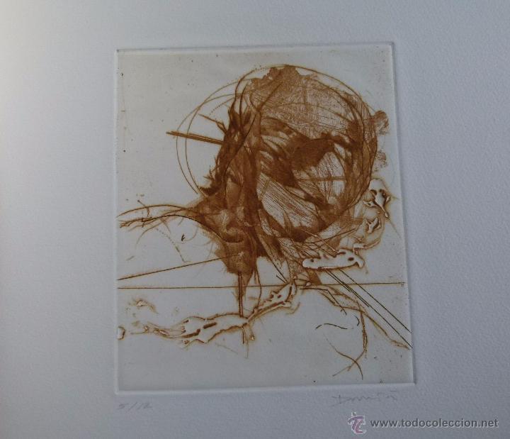GRABADO DE DAMIÁ DIAZ (Arte - Grabados - Contemporáneos siglo XX)