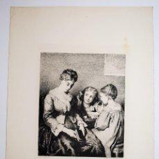 Arte: ELLE DORT ! BERTHE DELORME, PINX. ET SC.. Lote 53610725