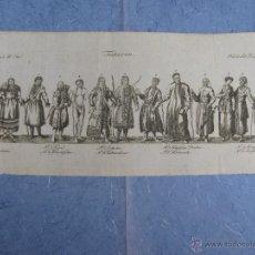 Arte: GRABADO ALEMAN DE TIPOS ASIATICOS, CA SIGLO XVIII.. Lote 53993353