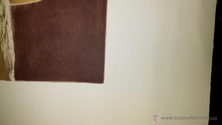 Arte: Grabado prueba de autor de Jose Diaz pintor - Foto 3 - 53995466