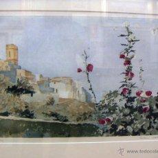 Arte: GRABADO ORIGINAL DE EBERHARD SCHLOTTER CON MARCO. Lote 54154068