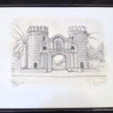 Arte: GRABADOS CIUDAD BADAJOZ MONUMENTAL G . CUEVAS. Lote 54163472