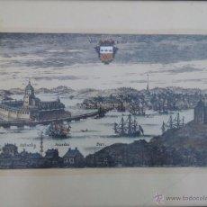 Arte: GRABADO DE VAN DER AVEELEN - 1709 - WIBORG. Lote 54185447