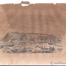 Arte: GRABADOS DE VISTAS DE QUEBEC. 18,8 X 27 CM. Lote 54230208