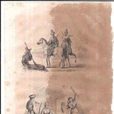 Arte: GRABADOS DE KIRGHIZ, Y TELEUTOS. 18,8 X 27 CM. Lote 54231522