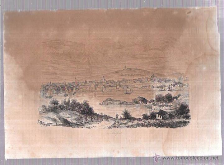 GRABADOS DE HALIFAX. 18,8X27 CM (Arte - Grabados - Antiguos hasta el siglo XVIII)