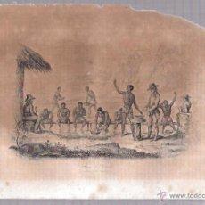 Arte: GRABADOS DE LAVADERO DE DIAMANTES. 18,8X27 CM. Lote 54349587