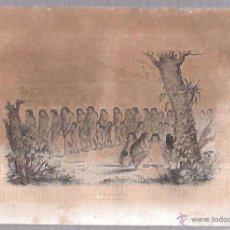 Arte: GRABADOS DEL BAILE DE LOS PURIS. 18,8X27 CM. Lote 54349642