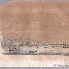 Arte: GRABADOS DE RADA DEL RIO DE JANEIRO. 18,8X27 CM. Lote 54349690
