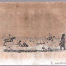 Arte: GRABADOS DEL MATADERO. 18,8 X 27 CM. Lote 54349782