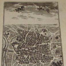 Arte: ANTIGUO GRABADO. 1685. MALLET, A. MADRID. Lote 54678844