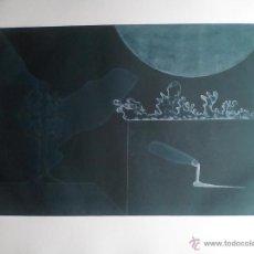 Arte: DANIEL ARGIMON 77 (SARRIÁ 1929-BARCELONA 96) GRABADO 1977: PALETA 19/75, PLANCHA 58X37,5 PAPEL 76X56. Lote 37972353