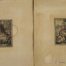 Arte: GR-072. COLECCION DE 23 GRABADOS EROTICOS. NOEL DE MIRE Y LONGUEIL. SIGLO XVIII.. Lote 52622559