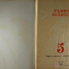 Arte: N5-040. FLORA MAGICA. 5 SERIGRAFIAS DE MIQUEL PLANA. OLOT 1979.. Lote 49124262
