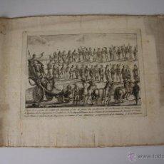 Arte: COLECCIÓN DE 4 GRABADOS - MASCARA REAL - TRAMULLAS (?) - SIGLO XVIII - XIX. Lote 49304008