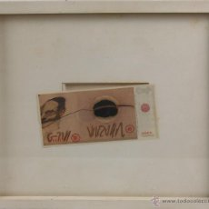 Arte: K2-014 - CENT TUCARES. BILLETE. GRABADO. ALBERTO PORTA ZUSH. ESPAÑA. 1980.. Lote 47469837