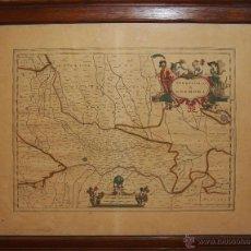 Arte: J3-021 - MAPA DE CREMONA. GRABADO COLOREADO. JOHANNES JANSSONIUS. AMSTERDAM.XVII. Lote 47699526