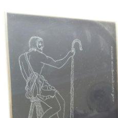 Arte: CURIOSO GRABADO ORIGINAL SOBRE YESO. Lote 54853187
