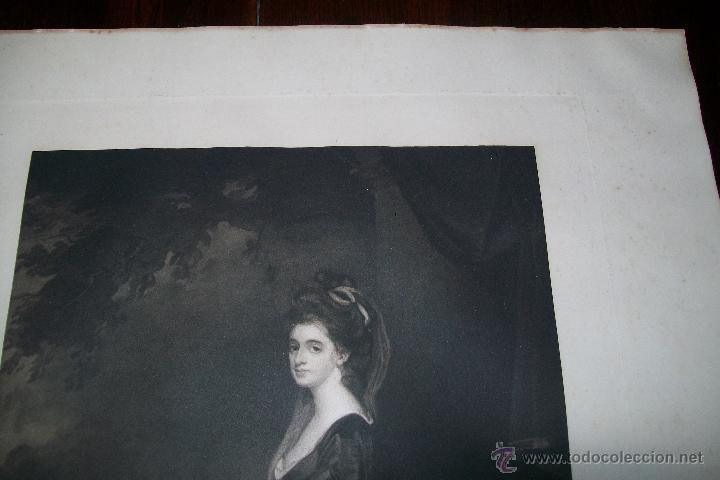 Arte: LADY ISABELLA HAMILTON J.WALKER - ROMNEY PHOTOGRAVURE BY SWAN ELECTRIC ENGRAVING CO - Foto 2 - 54993568