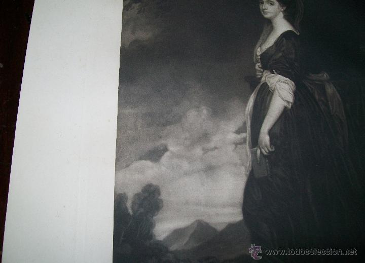 Arte: LADY ISABELLA HAMILTON J.WALKER - ROMNEY PHOTOGRAVURE BY SWAN ELECTRIC ENGRAVING CO - Foto 3 - 54993568