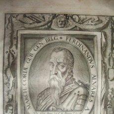 1627-FERNANDO ALVAREZ DE TOLEDO.DUQUE DE ALBA.PIEDRAHITA.TOMAR.GRABADO ORIGINAL