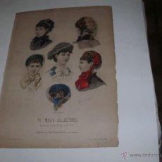 Arte: LA MODE ILLUSTREE - GRABADO FRANCES - SIGLO XVIII -. Lote 59467515