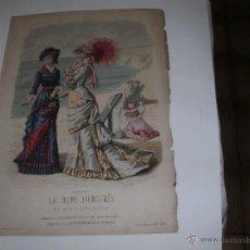 Arte: LA MODE ILLUSTREE - GRABADO FRANCES - SIGLO XVIII -. Lote 55025554